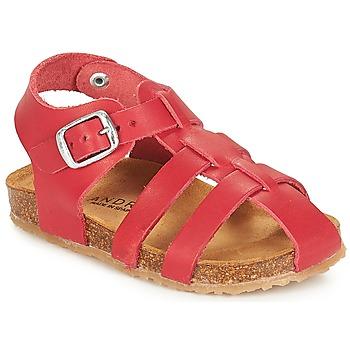 kengät Pojat Sandaalit ja avokkaat André AVIRON Red