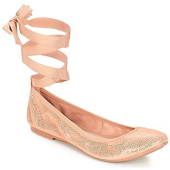 kengät Naiset Balleriinat André ACTEE Vaaleanpunainen