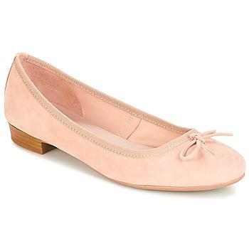 kengät Naiset Balleriinat André CINDY Beige