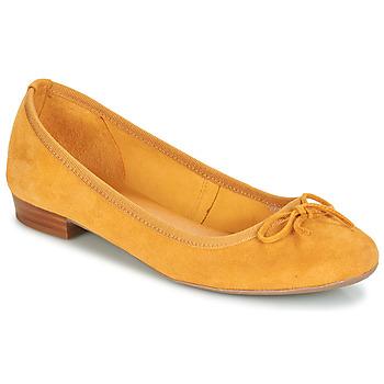kengät Naiset Balleriinat André CINDY Yellow