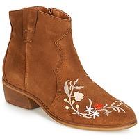 kengät Naiset Bootsit André WEST Camel