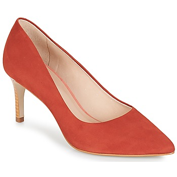 kengät Naiset Korkokengät André SCARLET Red / Orange