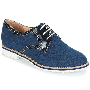 kengät Naiset Derby-kengät André DERIVEUR Laivastonsininen