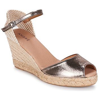 kengät Naiset Espadrillot André CADIX Kulta