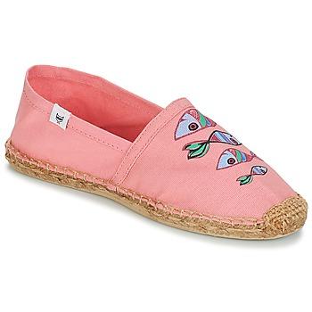 kengät Naiset Espadrillot André POISSON VOLANT Pink