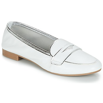 kengät Naiset Mokkasiinit André CLOCHETTE White