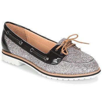 kengät Naiset Mokkasiinit André JAY Argenté