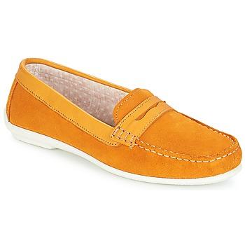 kengät Naiset Mokkasiinit André FRIOULA Yellow