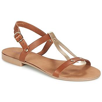 kengät Naiset Sandaalit ja avokkaat André TOUFOU Camel