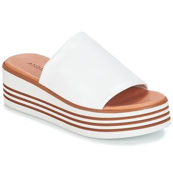 kengät Naiset Sandaalit André LARRY White