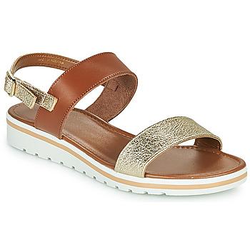 kengät Naiset Sandaalit ja avokkaat André ZANDORA Kulta