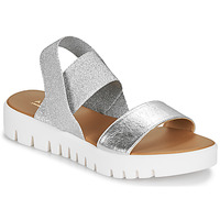 kengät Naiset Sandaalit ja avokkaat André EMY Hopea