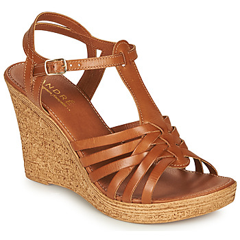 kengät Naiset Sandaalit ja avokkaat André FABULEUSE Camel