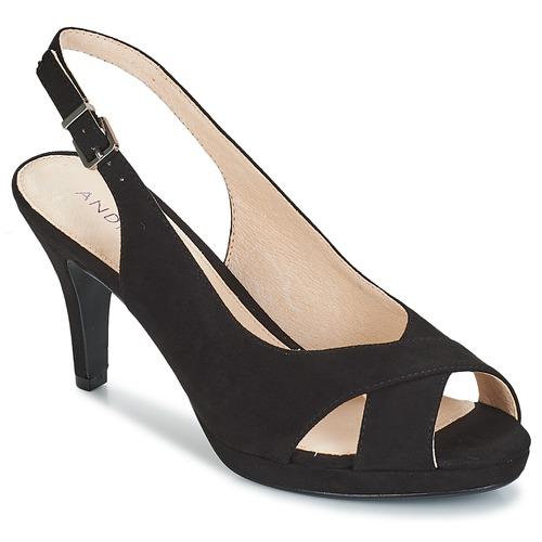 kengät Naiset Sandaalit ja avokkaat André EDWIGE Black