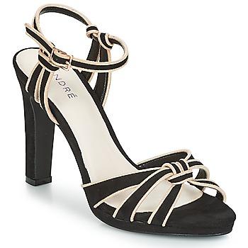 kengät Naiset Sandaalit ja avokkaat André ARPEGE Black