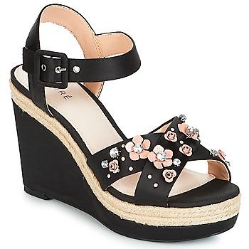 kengät Naiset Sandaalit ja avokkaat André IXIA Black