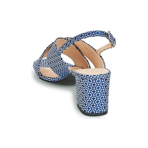 André Loyaute Blue - Ilmainen Toimitus- Kengät Sandaalit Naiset 60