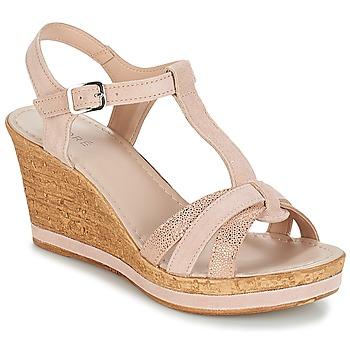 kengät Naiset Sandaalit ja avokkaat André ALOE Nude