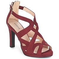 kengät Naiset Sandaalit ja avokkaat André CHARLESTON Bordeaux