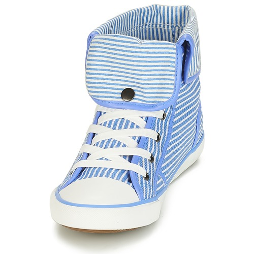 André GIROFLE White / Blue 8401298 Naisten kengät