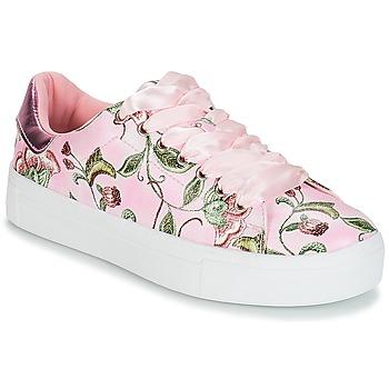 kengät Naiset Matalavartiset tennarit André POPY Pink