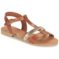 kengät Naiset Sandaalit ja avokkaat André CAYO COCOS Camel