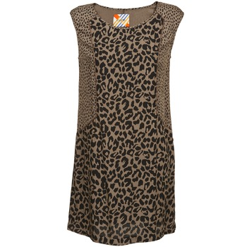 vaatteet Naiset Lyhyt mekko Chipie RITA BEIGE