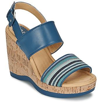 kengät Naiset Sandaalit ja avokkaat Hush puppies GRACE LUCCA Blue