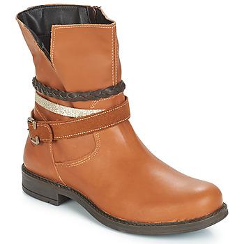 kengät Tytöt Bootsit Citrouille et Compagnie FURAMO Camel