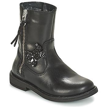 kengät Tytöt Bootsit Citrouille et Compagnie JARINDA Black