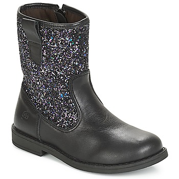 kengät Tytöt Bootsit Citrouille et Compagnie JUCKER Black