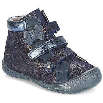 kengät Tytöt Bootsit Citrouille et Compagnie JODIL Blue