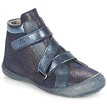 kengät Tytöt Bootsit Citrouille et Compagnie JISSOU Blue