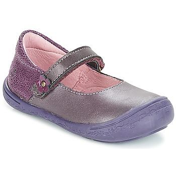 kengät Tytöt Balleriinat Citrouille et Compagnie JITSONBU Violet