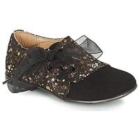 kengät Tytöt Derby-kengät Citrouille et Compagnie JETTRA Black / Bronze