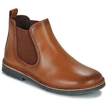 kengät Lapset Bootsit Citrouille et Compagnie JOVETTE Kamelinruskea
