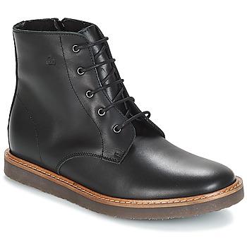 kengät Lapset Bootsit Citrouille et Compagnie JENKI Black