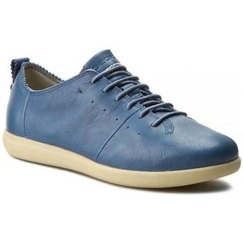 kengät Naiset Derby-kengät Geox New DO Vaaleansiniset