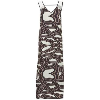 vaatteet Naiset Pitkä mekko Sisley SIXIOL Monivärinen