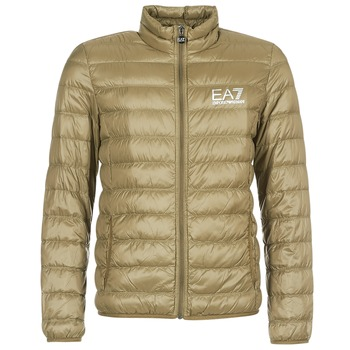 vaatteet Miehet Toppatakki Emporio Armani EA7 TRAIN CORE ID M DOWN LIGHT Brown