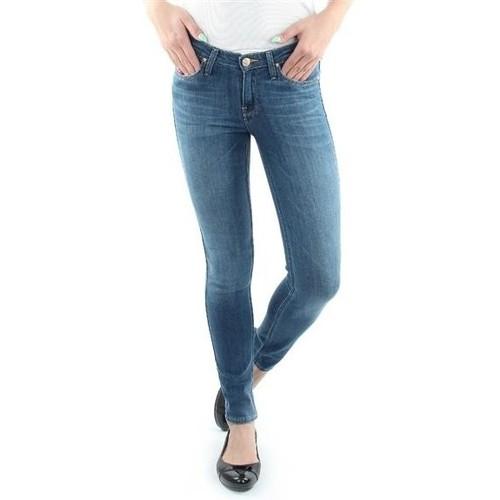 vaatteet Naiset Skinny-farkut Lee Scarlett Blue L526SVIX blue