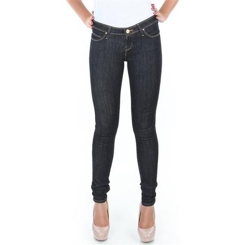 vaatteet Naiset Skinny-farkut Lee Spodnie  Toxey Rinse Deluxe L527SV45 blue