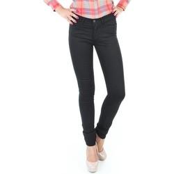 vaatteet Naiset Skinny-farkut Wrangler Jaclyn INK LUX W26DBI33L black