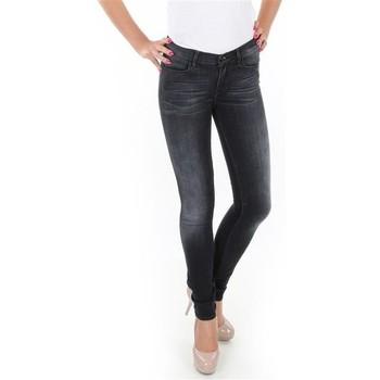 vaatteet Naiset Skinny-farkut Wrangler Jaclyn W26DLI53K black