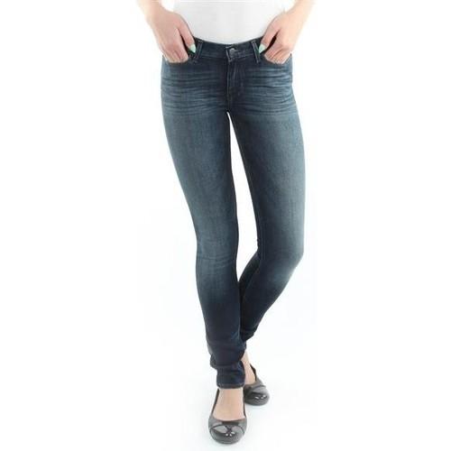 vaatteet Naiset Skinny-farkut Wrangler Jeans  Jaclyn  Dark Lake W26DU468Y blue