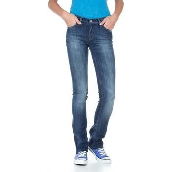 vaatteet Naiset Slim-farkut Lee Bonnie L302ALFR blue