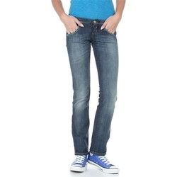 vaatteet Naiset Suorat farkut Lee Lynn L38418HD blue