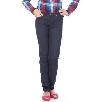 vaatteet Naiset Slim-farkut Lee Jeans  Lynn Straight  L333EYCU blue