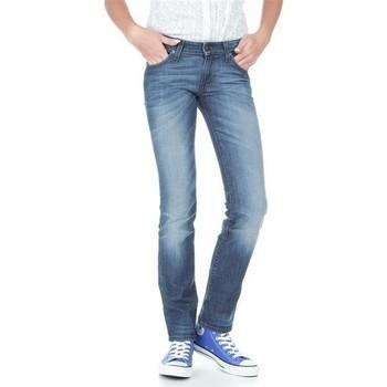 vaatteet Naiset Slim-farkut Lee Marlin L337AMPI blue