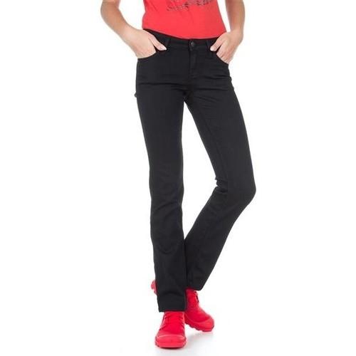 vaatteet Naiset Slim-farkut Lee Marlin L337DROC black
